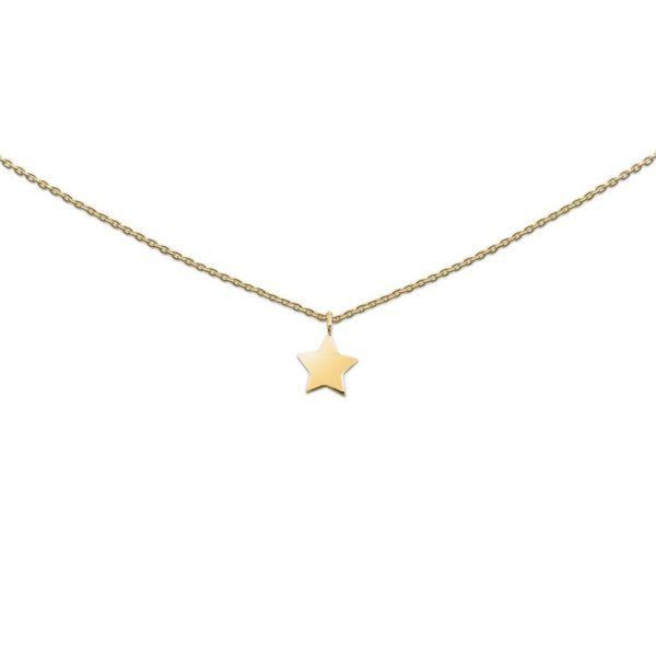 Silberkette mit Stern (925)