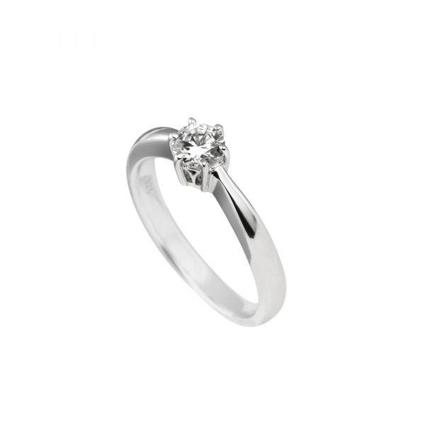 Diamonfire Solitär-Ring Silber (925)