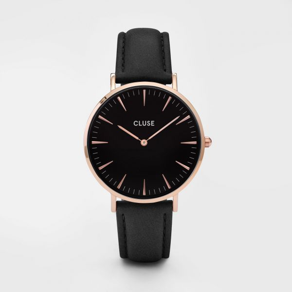 Cluse La Bohèm Rose Gold Black/Black