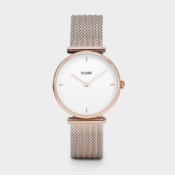 Cluse Triomphe Rose Gold Bicolor