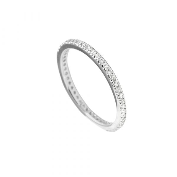 Diamonfire Memory-Ring Silber (925)