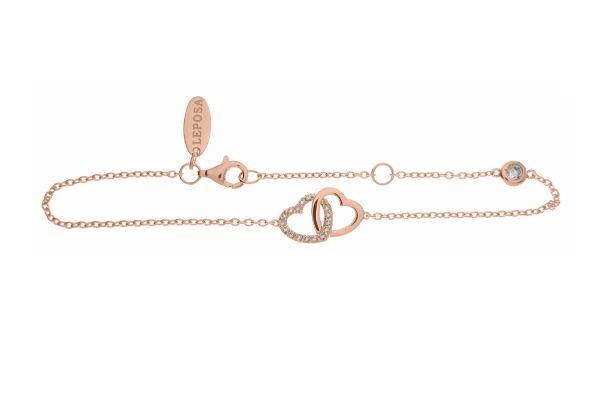 Armband mit Herzen & Zirkonia