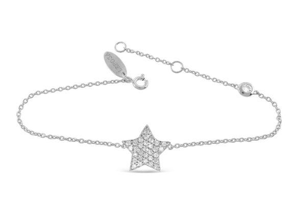 Armband mit Stern & Zirkonia
