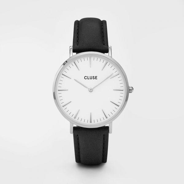 Cluse La Bohèm Silver White/Black