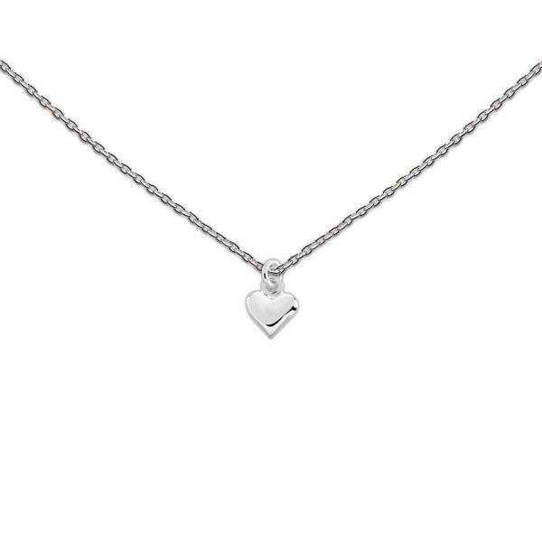 Silberkette mit Herz (925)
