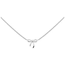 Silberkette mit Schleife (925)