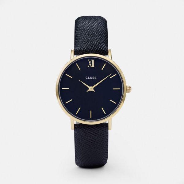 Cluse Minuit Gold Midnight/Blue