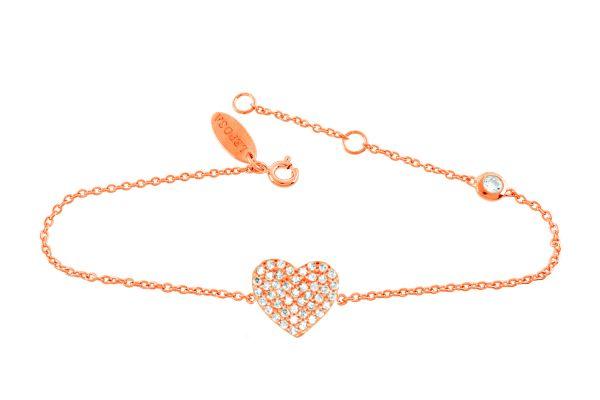Armband mit Herz & Zirkonia