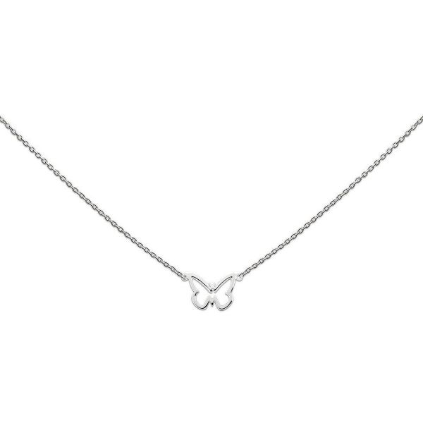 Silberkette mit Schmetterling (925)