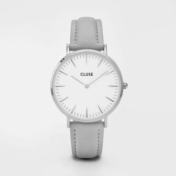Cluse La Bohèm Silver White/Grey